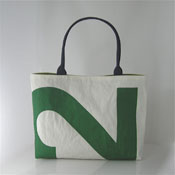 Green 2 recycled sail purse