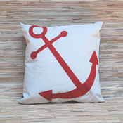 Red Anchor Tote