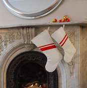 Upcycled Sail Holiday Stockings